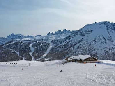 Skijalište Alpe Lusia - San Pellegrino/Falcade  (Val di Fassa)