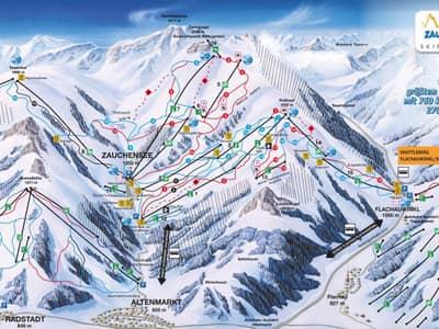 Skijalište Altenmarkt - Zauchensee